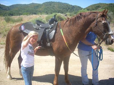 arthritis camp with horse
